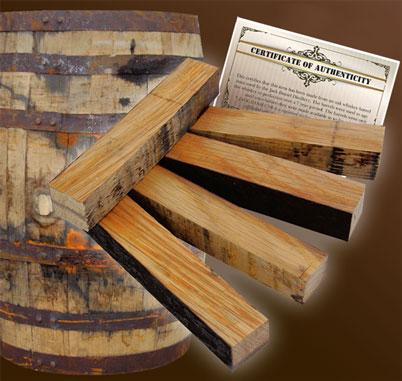 Jack Daniel S 174 Barrel Pen Blank W Cert Woodturningz