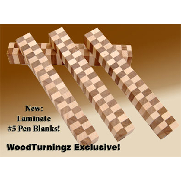 Laminated Wood Turning Blanks ~ Laminated pen blank style woodturningz