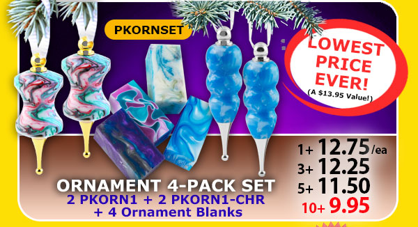 Ornament 4-pack Set