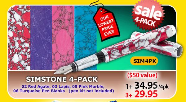 Sim Stone 4-pack