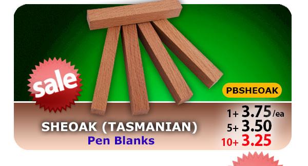 Sheoak Pen Blanks