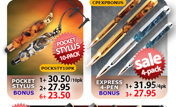 Pocket Stylus Bonus and Express Pen Bonus