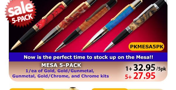 Mesa Pen Kit 5-pk