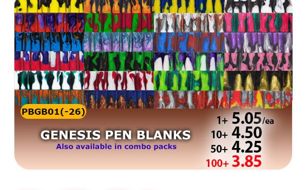 Genesis Pen Blanks