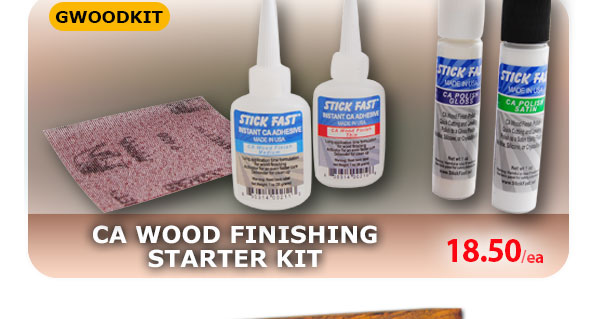 CA Wood Finishing Starter Kit