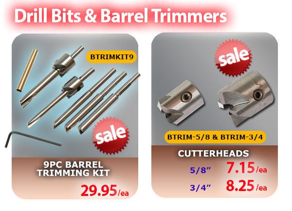 Drill Bits & Barrel Trimmers