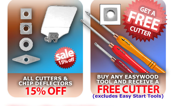 Easy cutters and Free Cutter promo