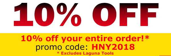 EXTRA 10% OFF WITH CODE HNY2018