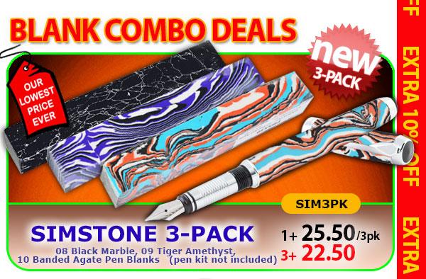 SimStone 3pk