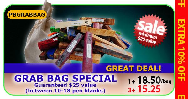 Pen Blank Grab Bag Special