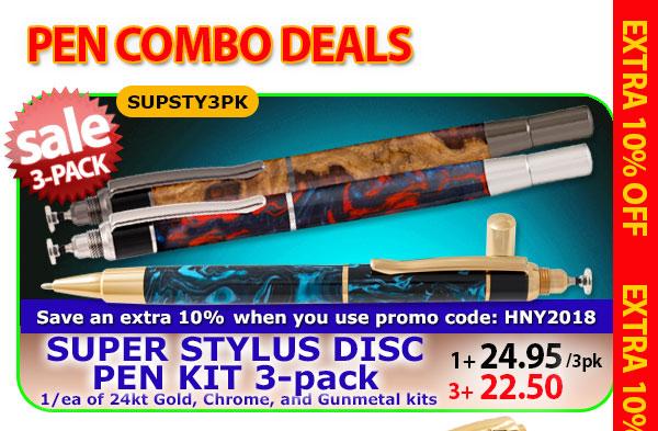 Super Stylus Disc Pen
