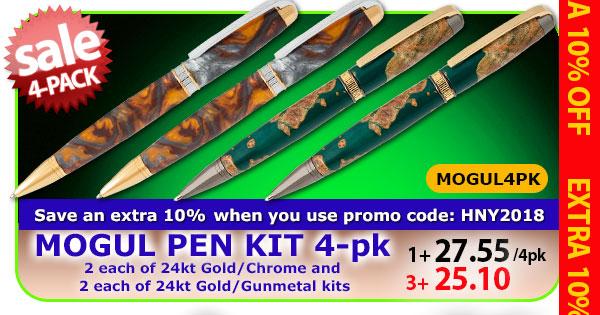 Mogul Pen Kit 4pk