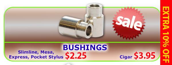 Bushings - Slimline, Mesa, Express, Pocket Stylus