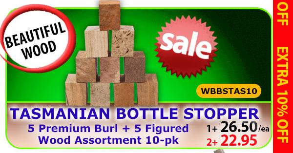 Tasmanian Bottle Stopper 10pk