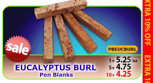 Eucalyptus Burl Pen Blank