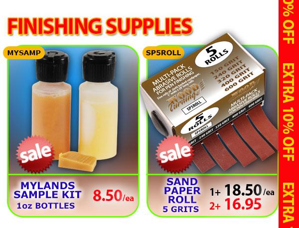 Mylands Sample Kit or Sand Paper Roll - 5 grits