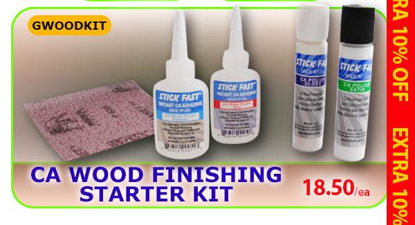 CA Wood Finishing Starter Kit