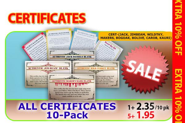 All Certificate 10pks