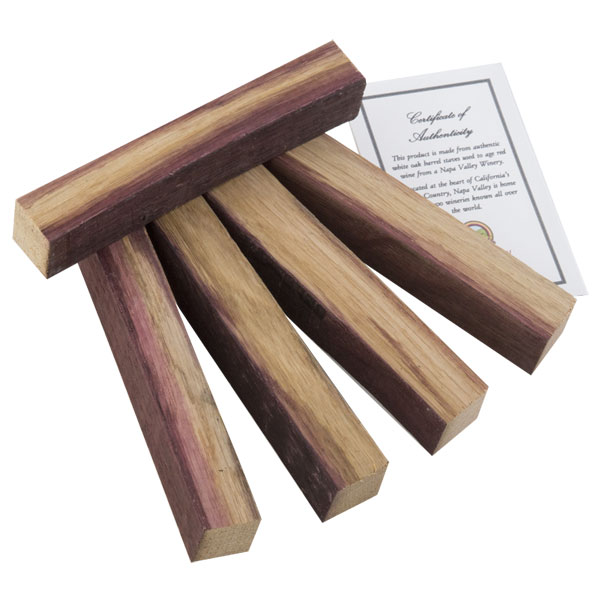 Napa Valley Wine Barrel Pen Blanks w/Certificate - WoodTurningz