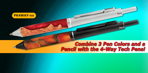 4-Way Tech Pen Kits